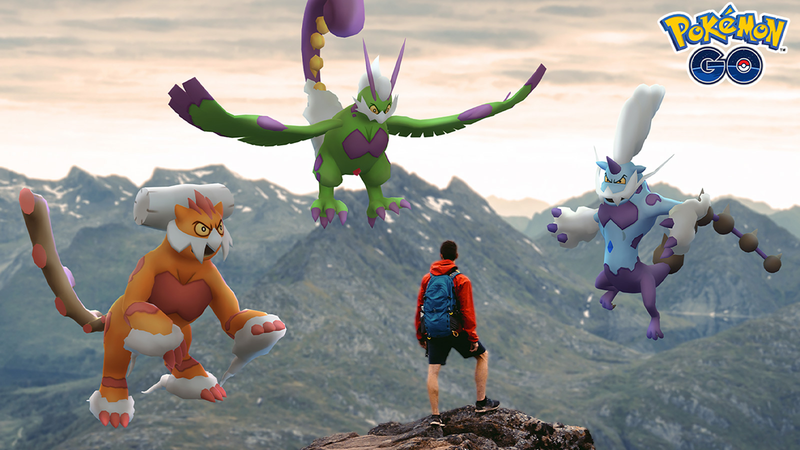 Screenshot of Forces of Nature Legendaries in Pokemon Go.