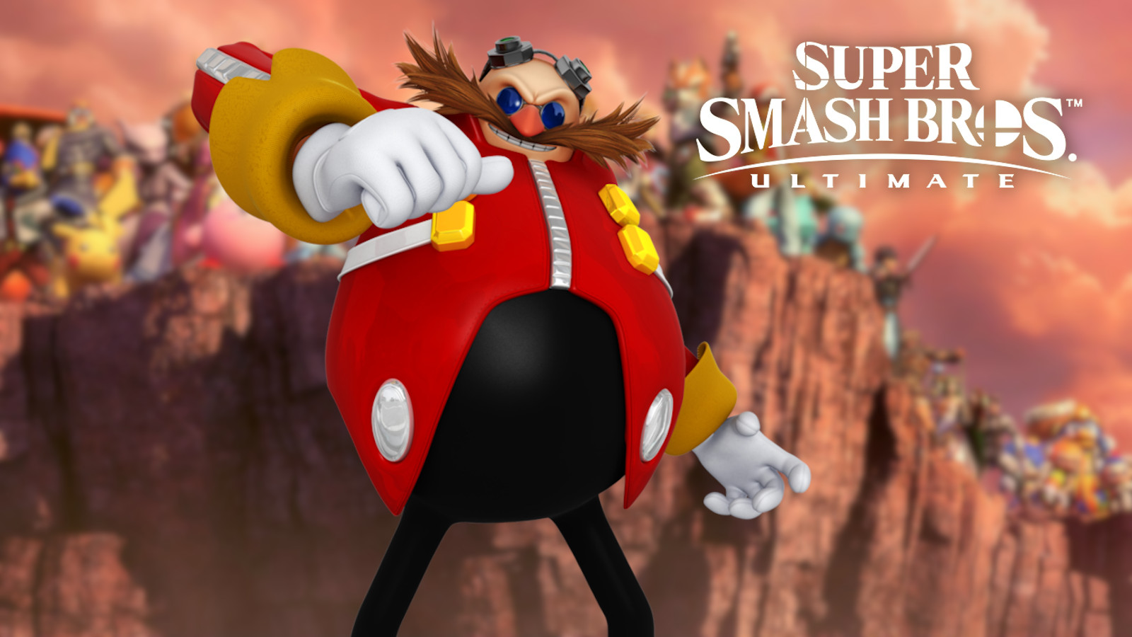 Doctor Eggman from Sonic in Smash Ultimate