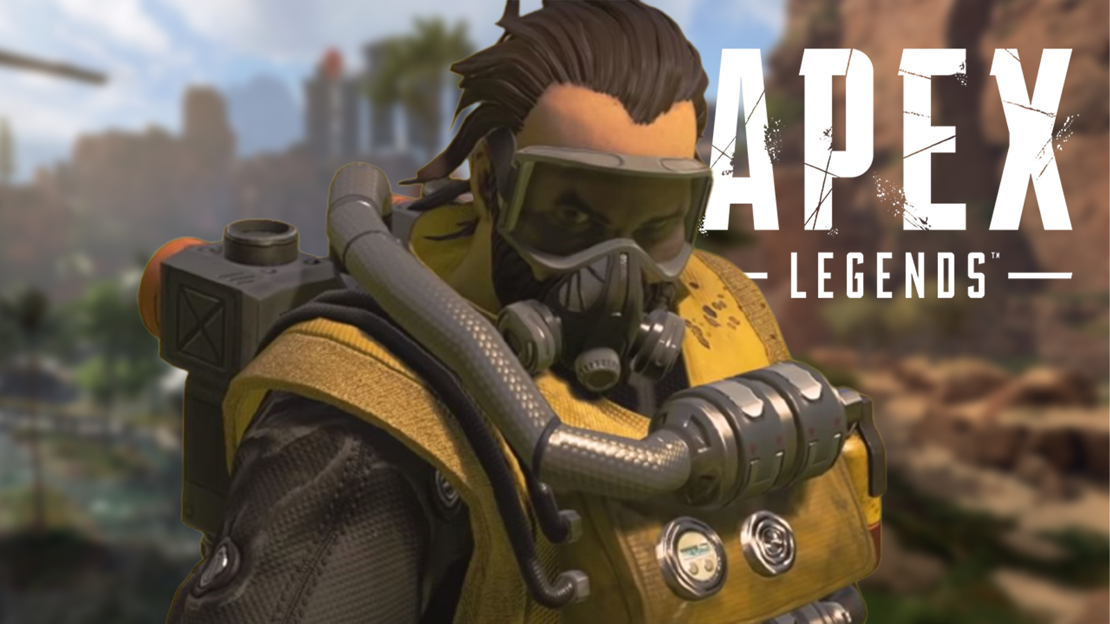 caustic apex legends town takeover