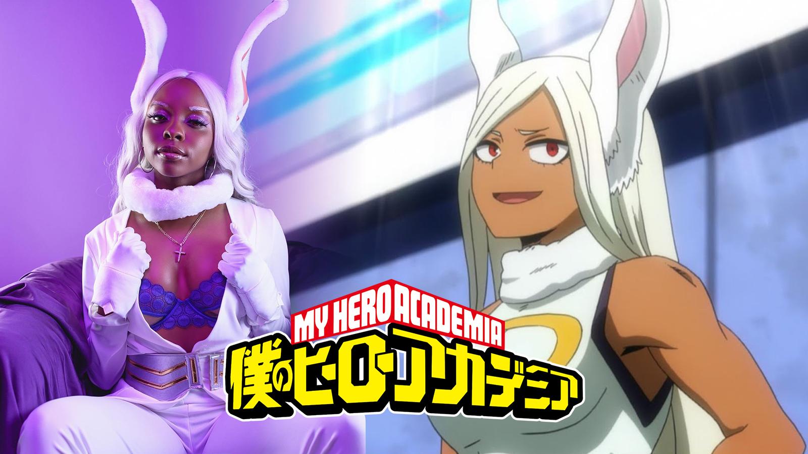 My Hero Academia Rabbit Hero Miruko Cosplay