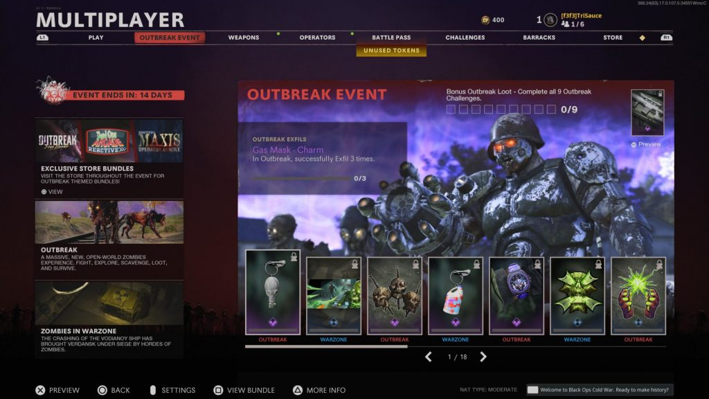 Warzone Outbreak Event