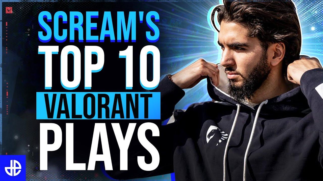 ScreaM's top 10 plays in Valorant