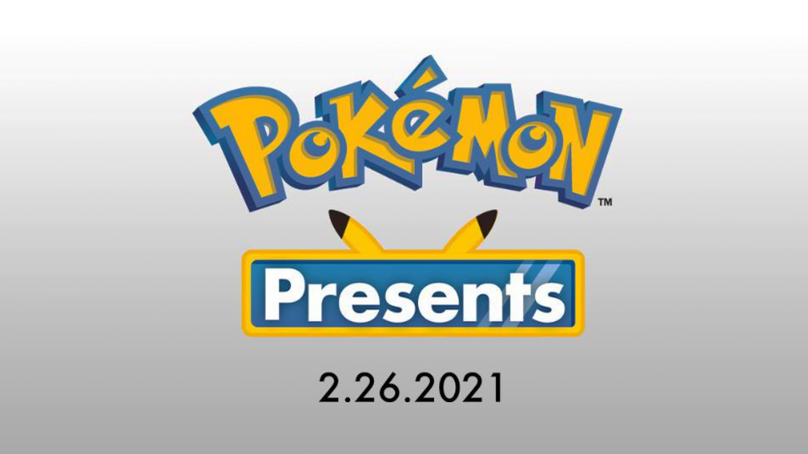 Screenshot of Pokemon Presents logo.