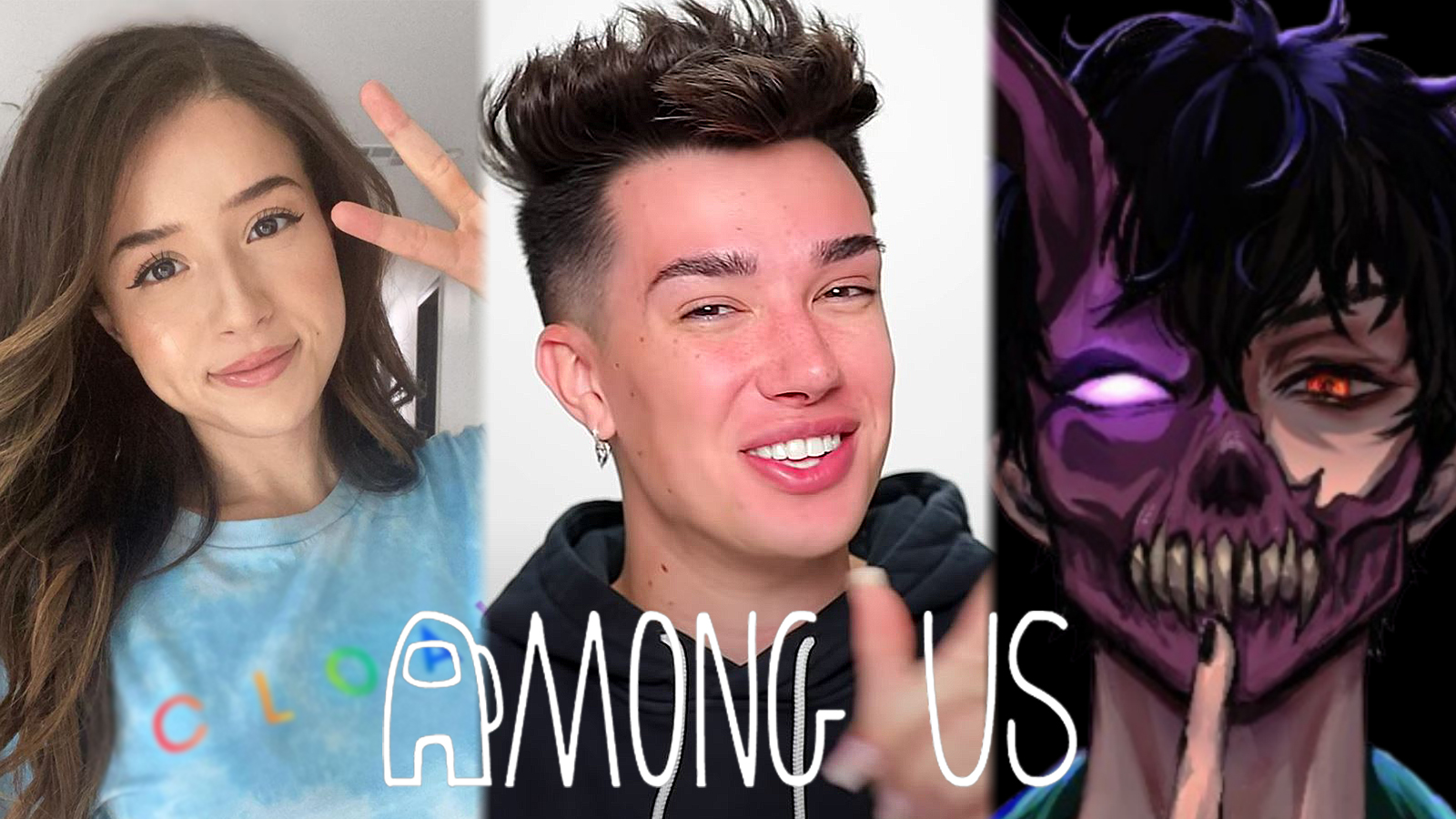 James Charles teases among us Poki Corpse more