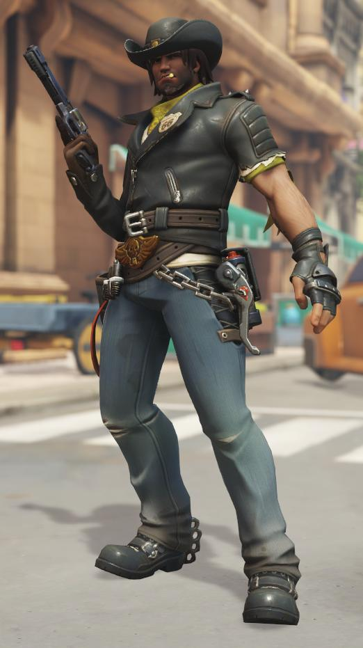 McCree Deadlock skin