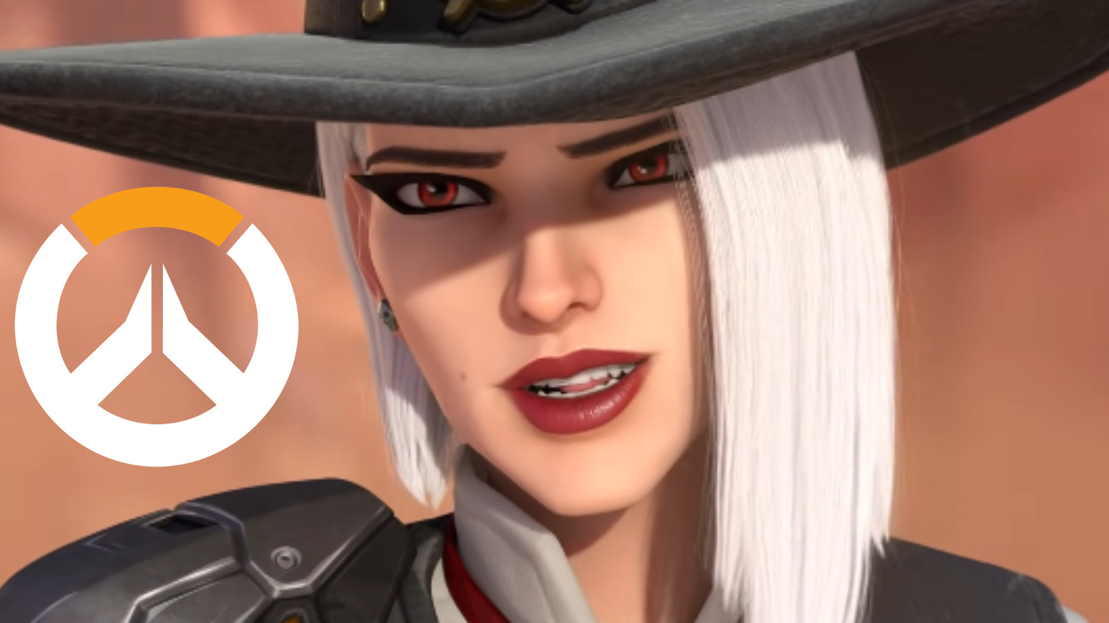 Ashe smiles at McCree