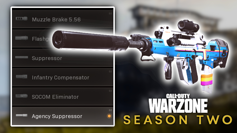 agency suppressor black ops cold war warzone suppressors secret nerf season 2 raven change