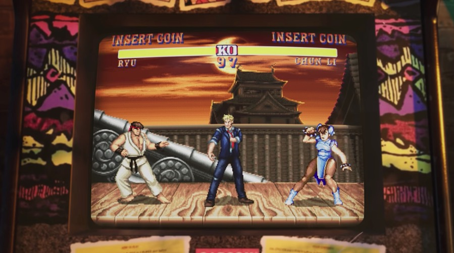 street fighter ryu and chun li