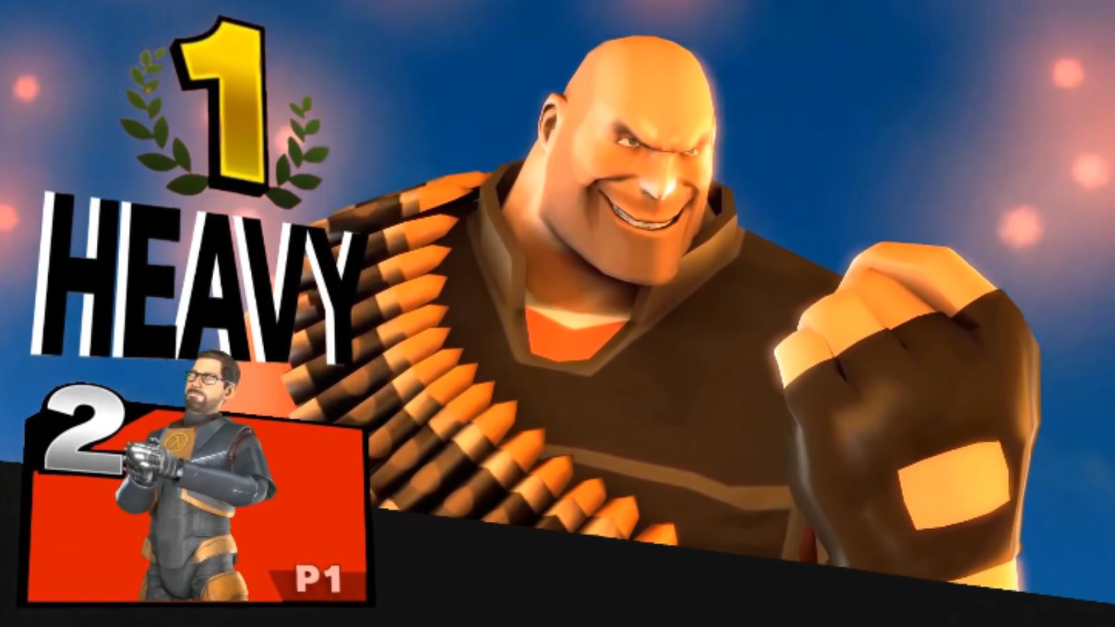 Heavy in Smash Ultimate