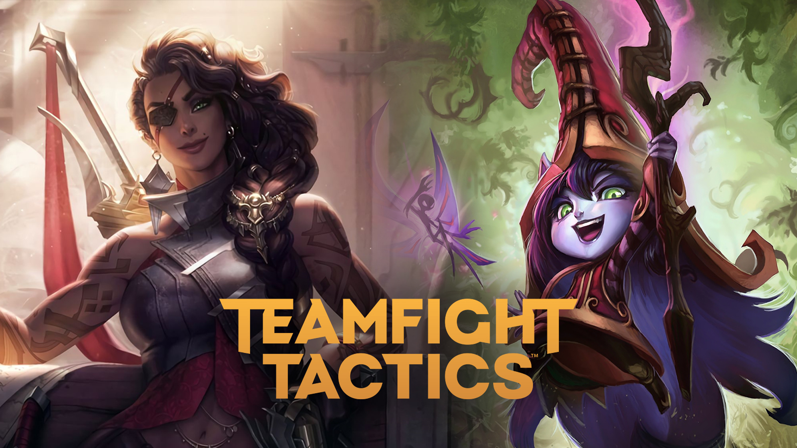 Samira and Lulu in TFT Fates
