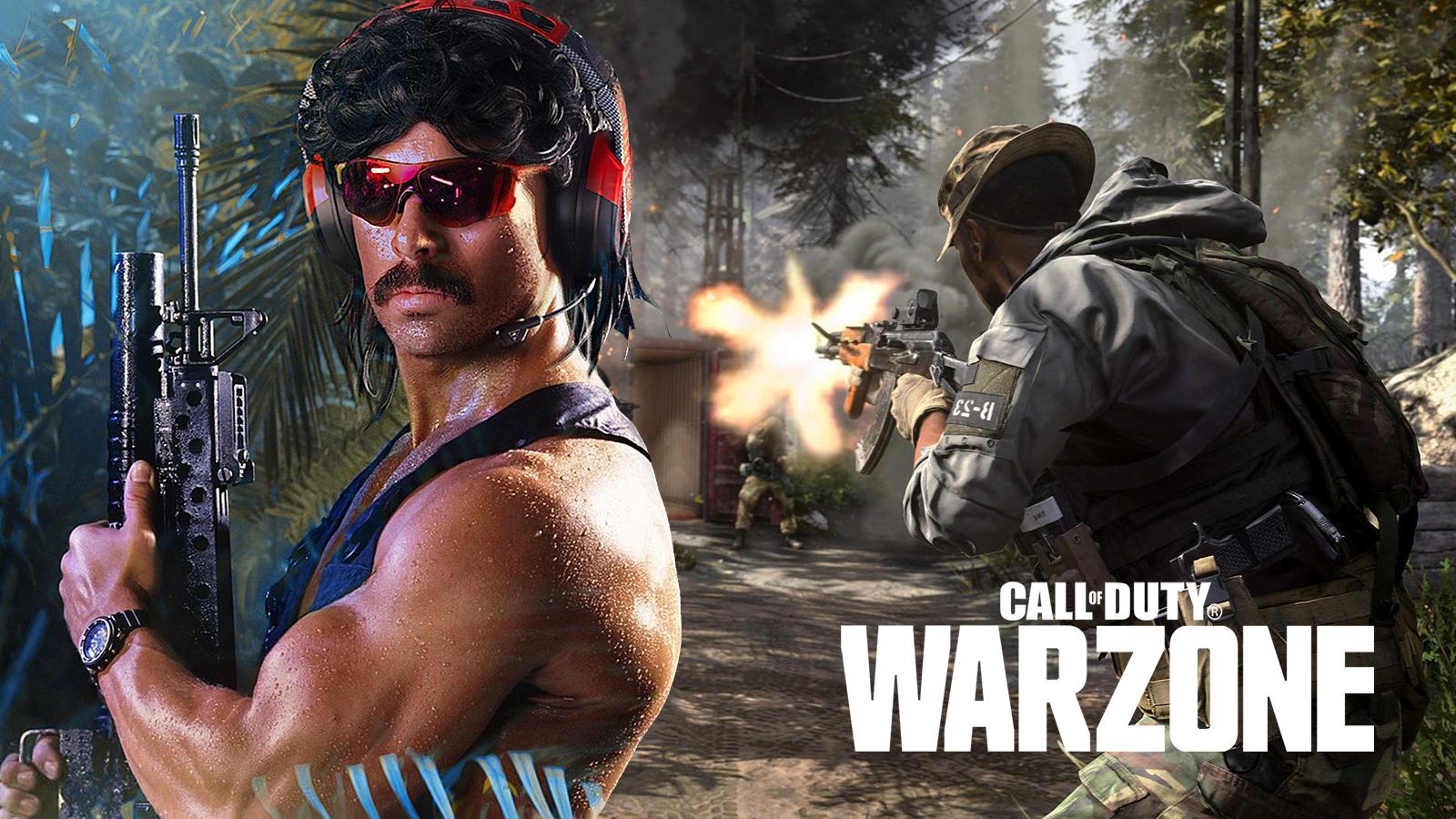Dr Disrespect Warzone Tournament Ban