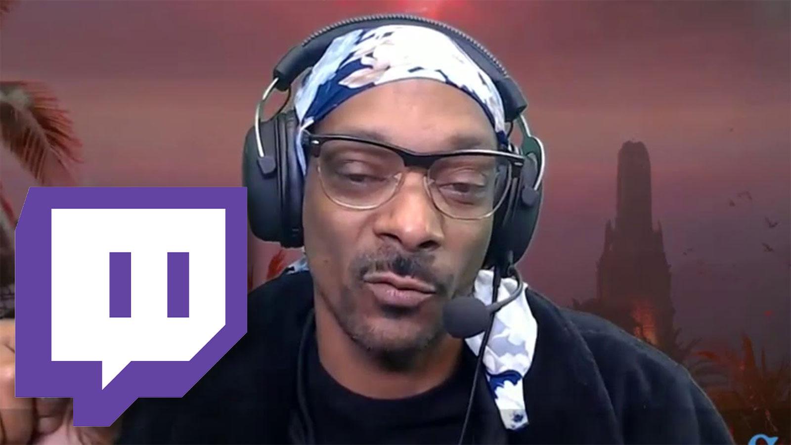 Snoop Dogg on twitch.com