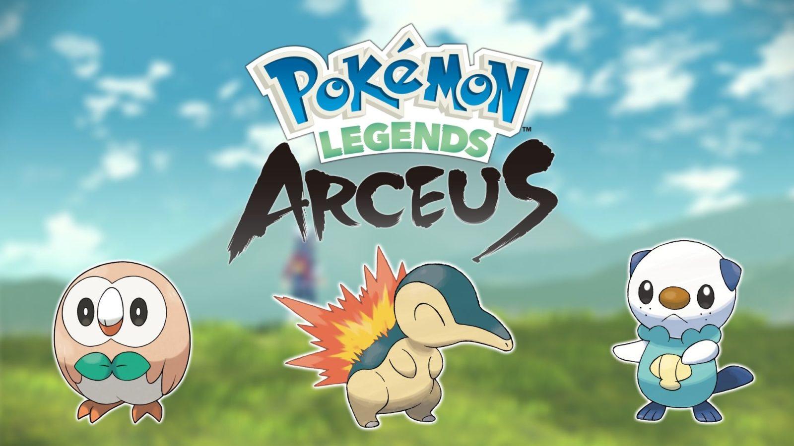 Legends Arceus Pokemon
