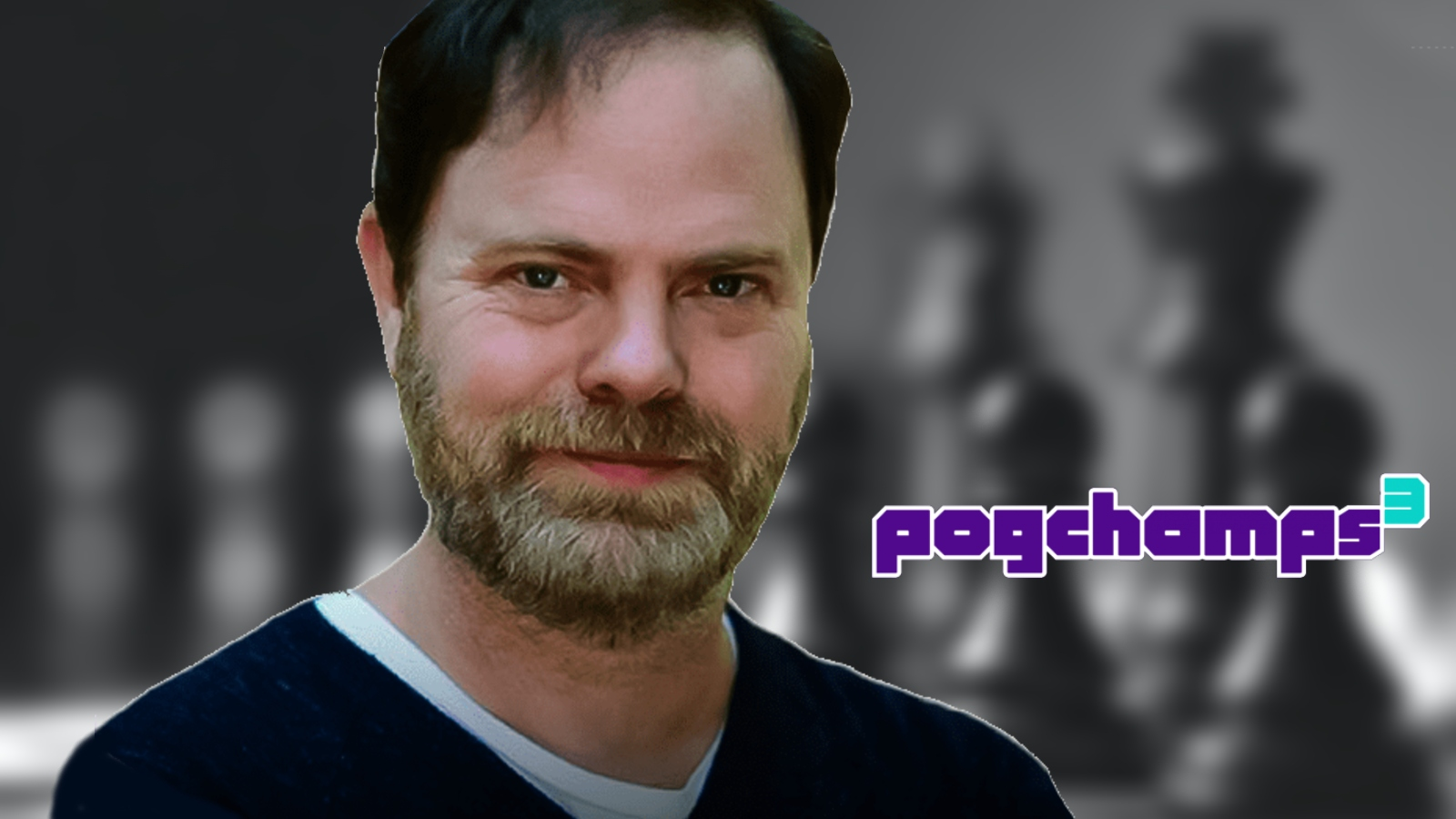 Rainn Wilson pogchamps 3 chess tournament