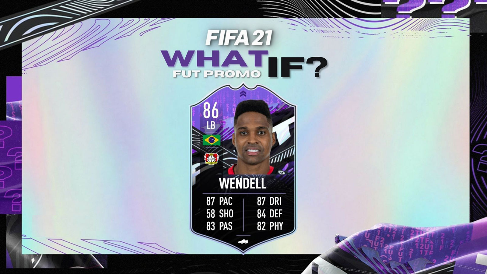 Wendell What If SBC FIFA 21