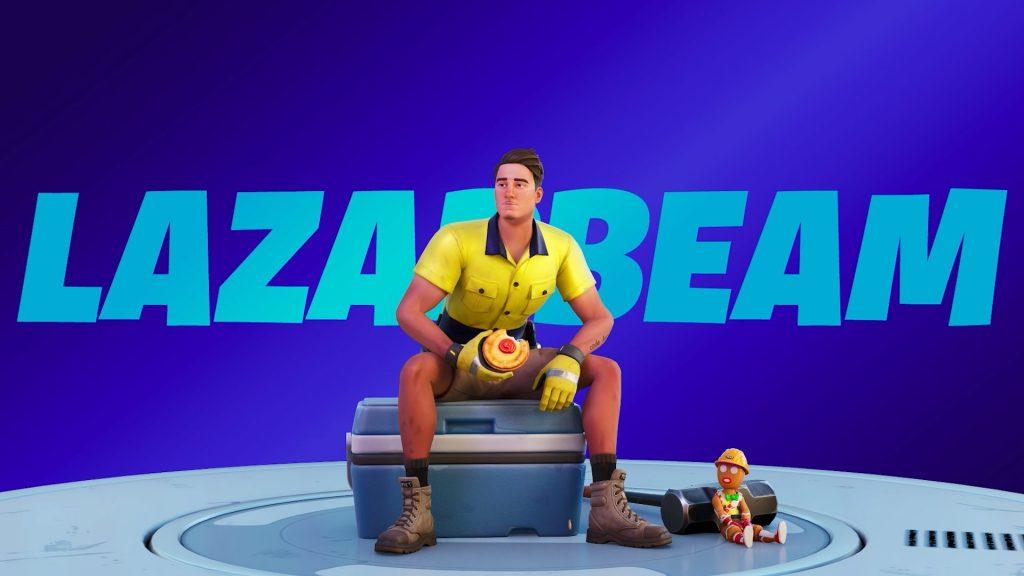 Lazarbeam has finally got his own Fortnite Icon Series skin.