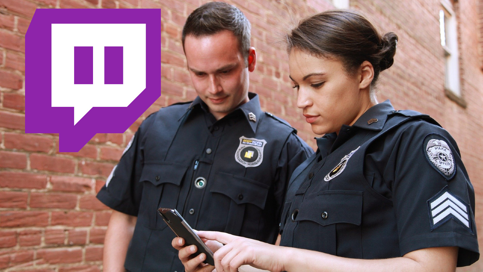 Law enforcement check phone on twitch