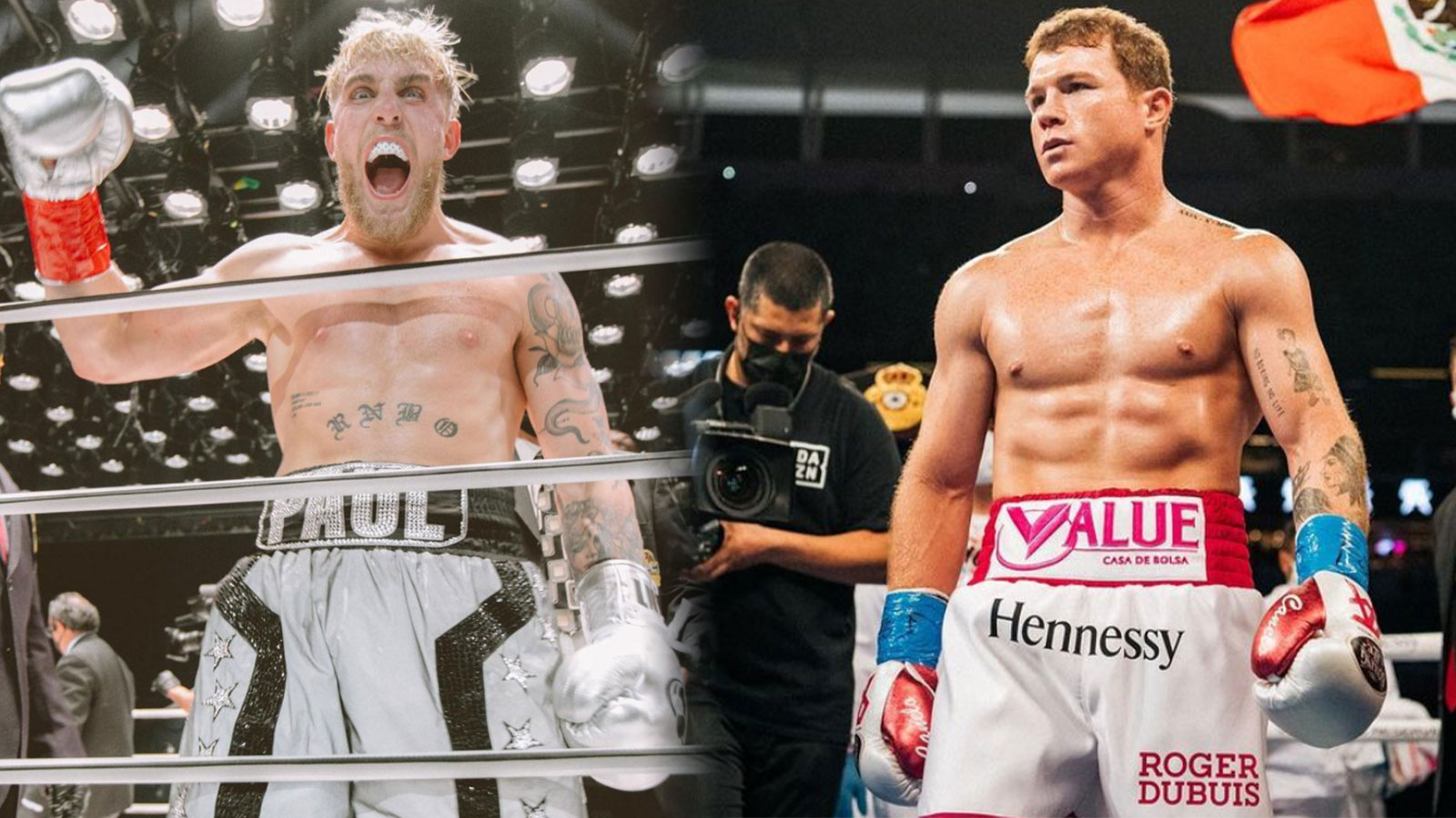 Jake Paul Canelo boxing
