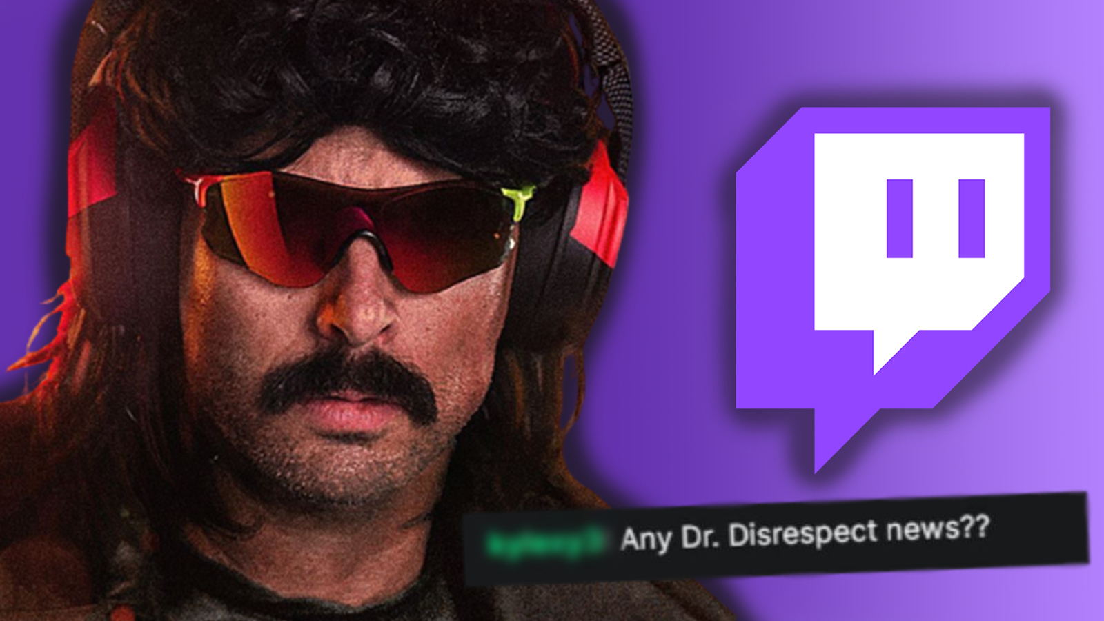Twitch responds to Dr Disrespect ban question