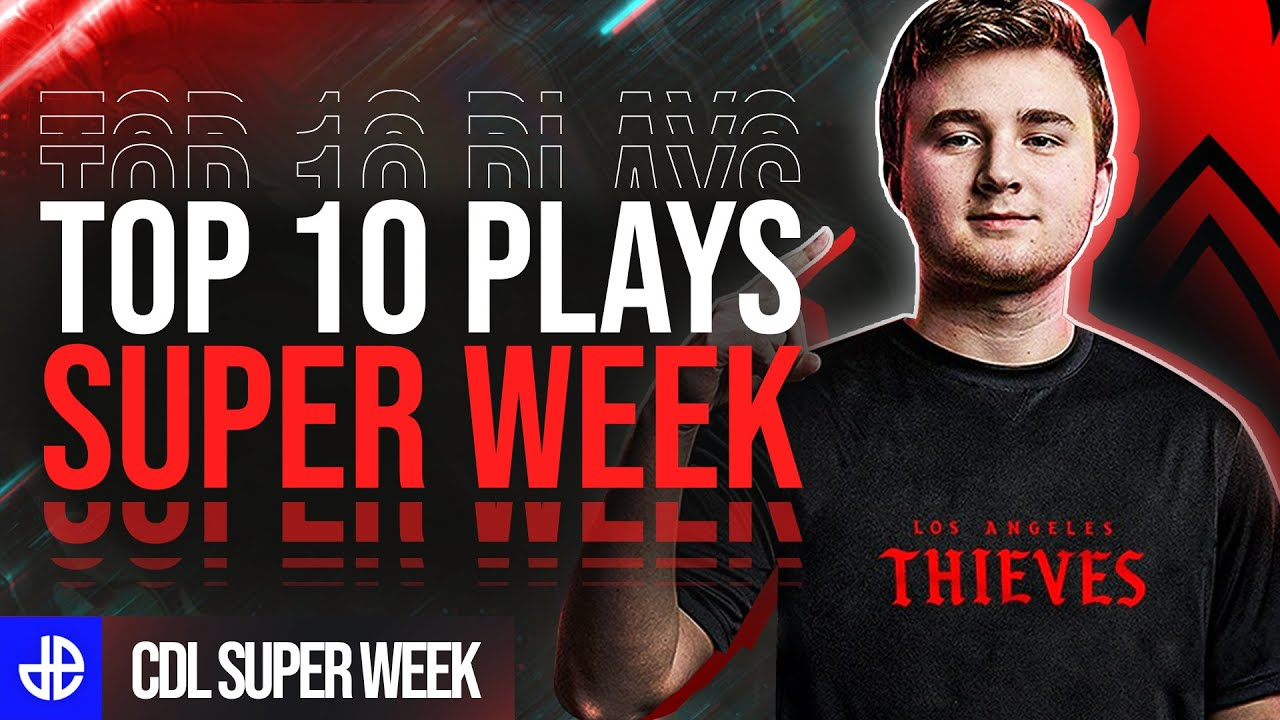 Call of Duty League Super Week Top 10 plays