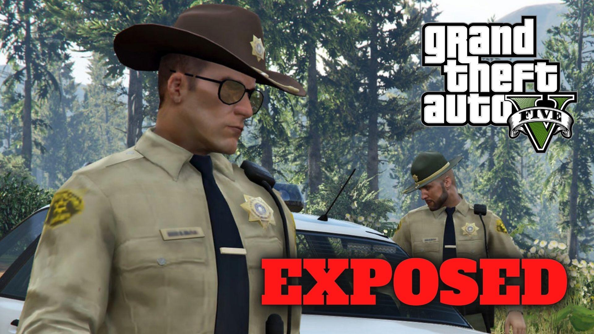 gta 5 exposed police secret