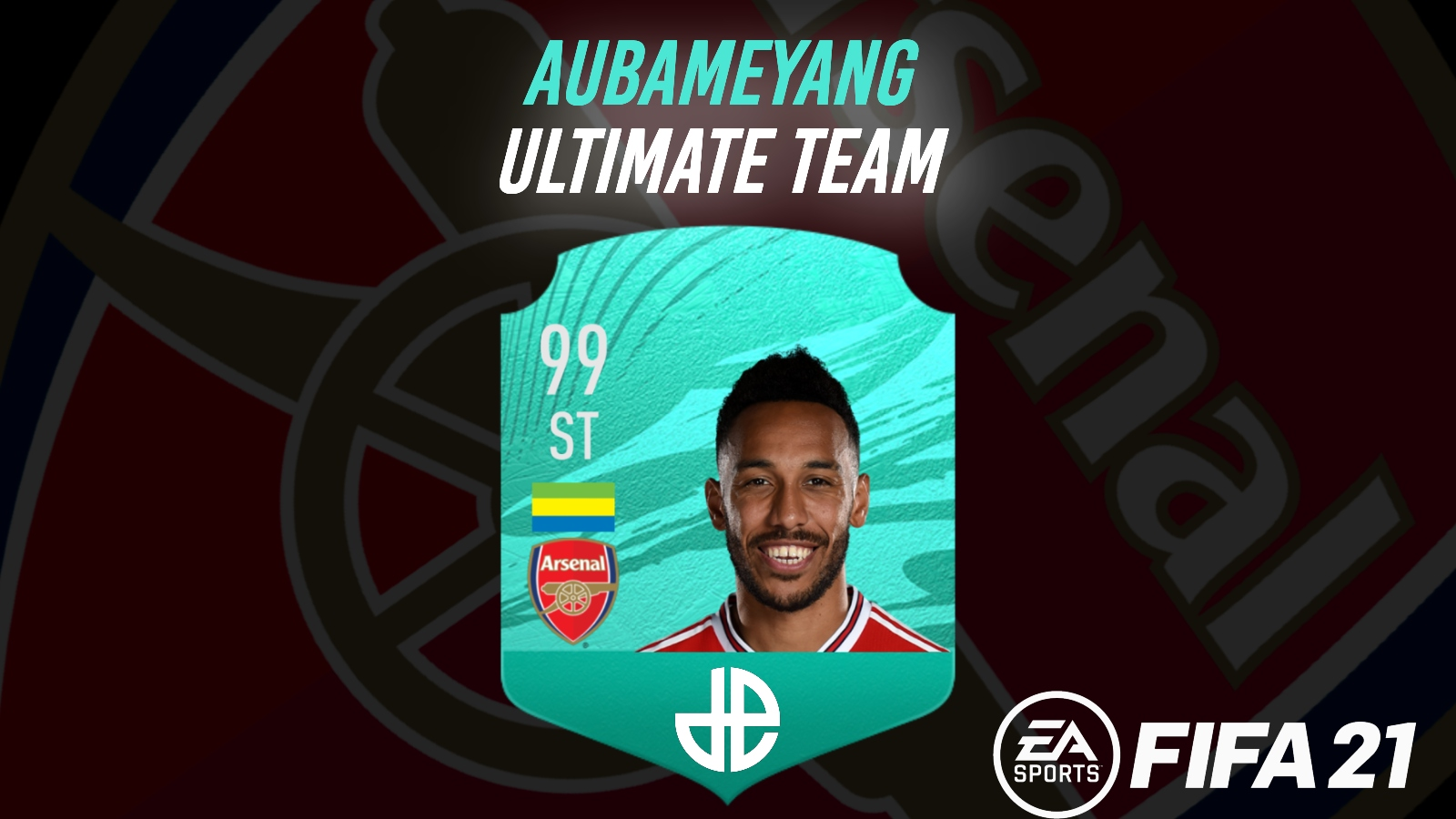 Aubameyang FIFA 21 Ultimate Team pro card