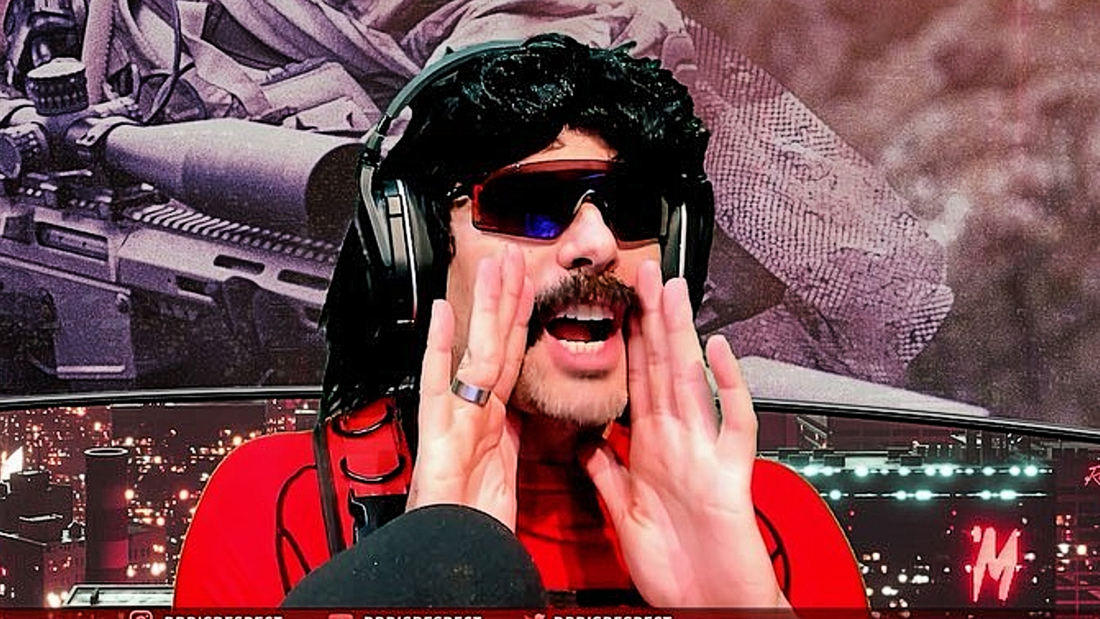 Dr Disrespect roasts fan for small donation