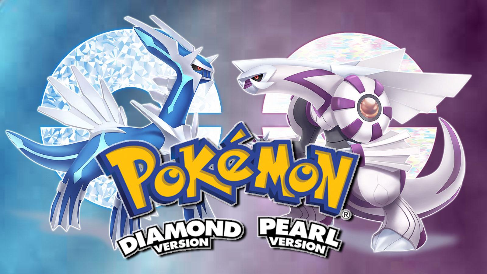Screenshot of Pokemon Dialga and Palkia in Brilliant Diamond & Shining Pearl.