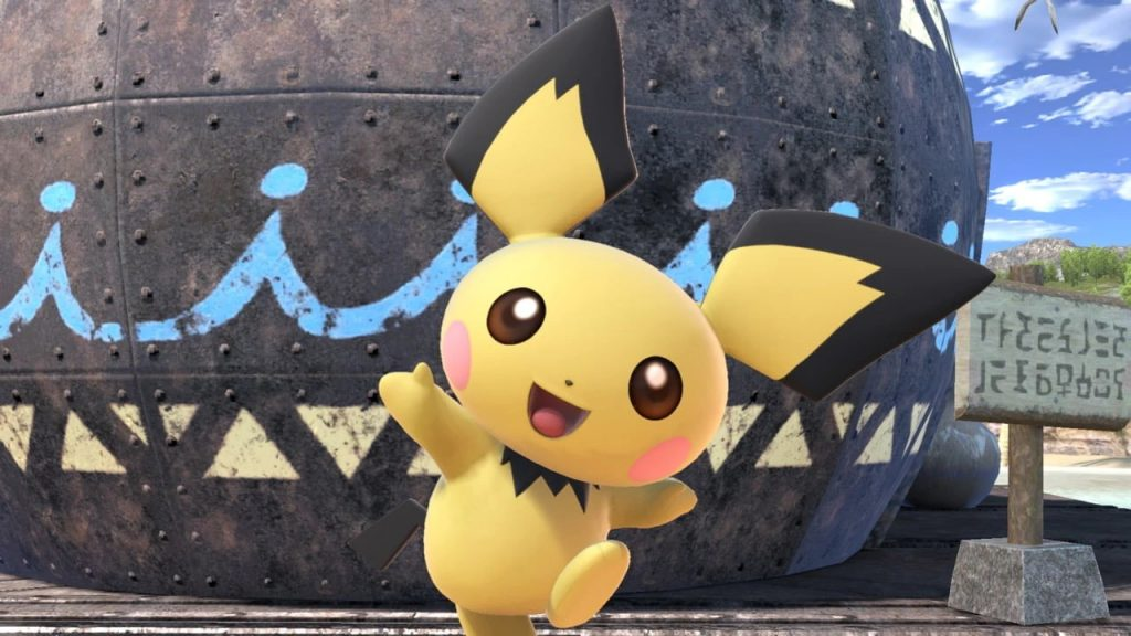 Pichu cut nerfs down to Side Smash, Forward Throw, Up Special, and more.