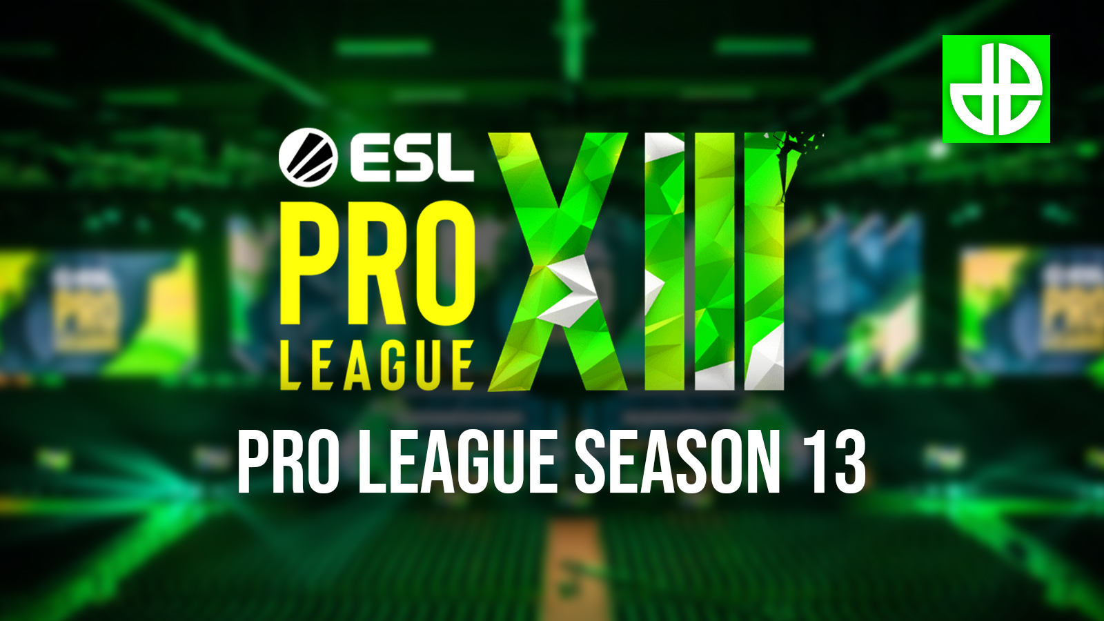 ESL Pro League Season 13 header