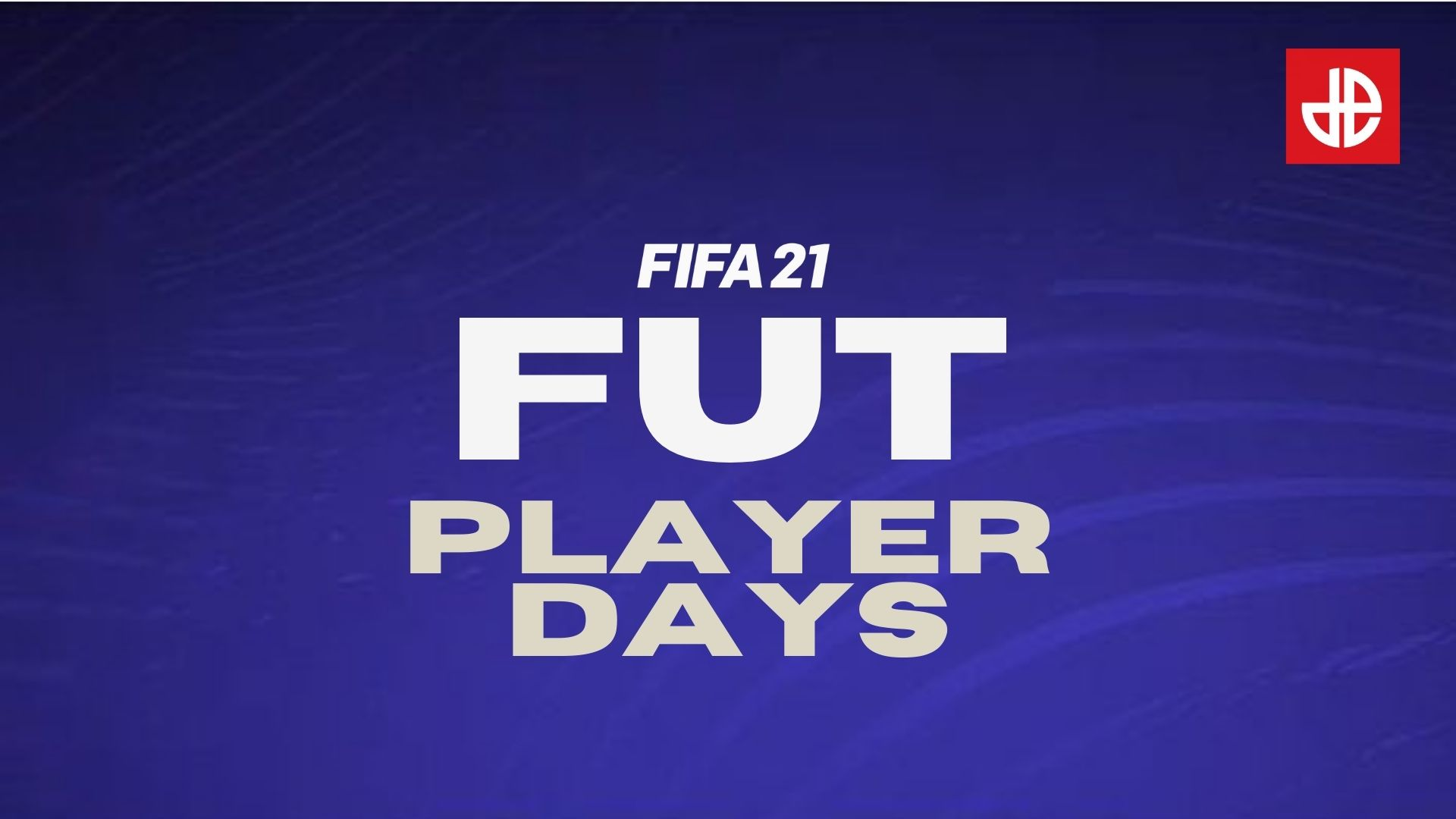 FIFA 21 FUT Player Days logo