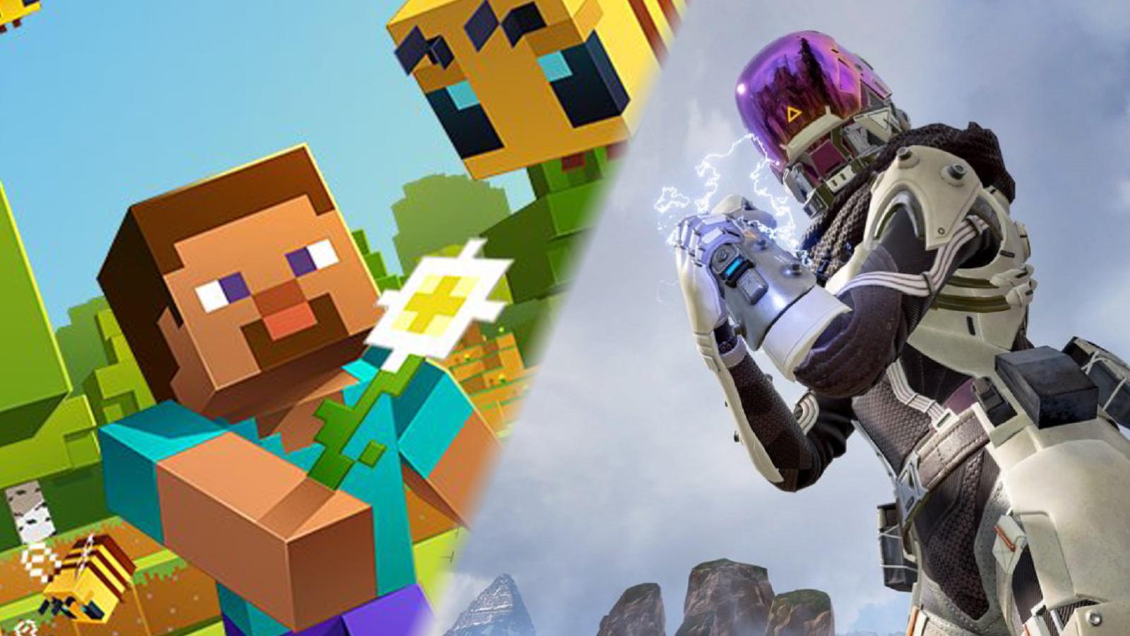 Apex Legends Minecraft Crossover