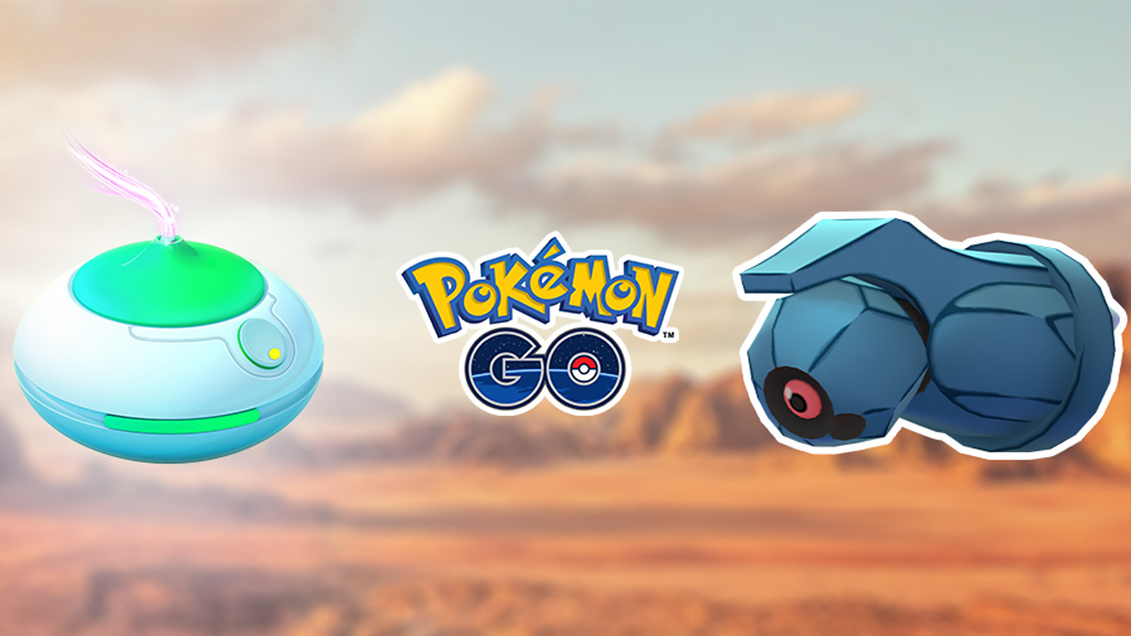 Screenshot of Pokemon Go Beldum & Incense promotion.