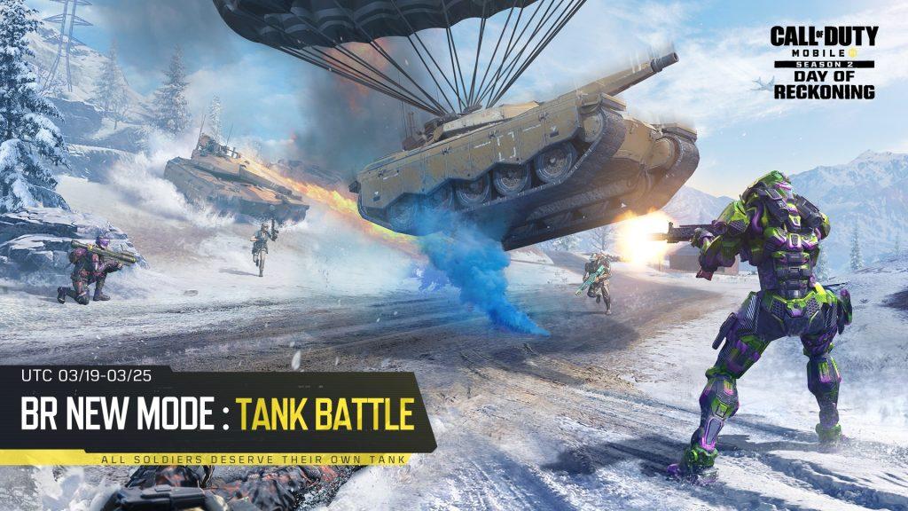 Tank Battle mode in CoD Mobile
