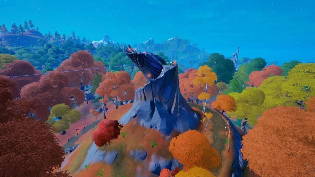 fortnite season 6 small spire