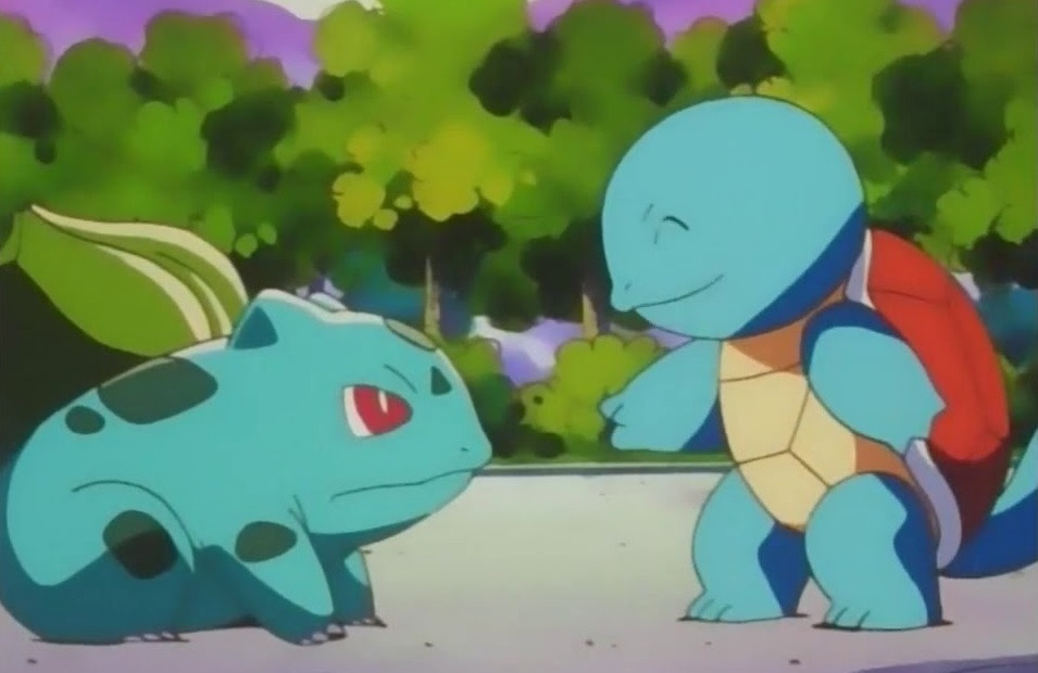Bulbasaur and Squirtle will reportedly be in Pokemon Sword and Shield after all...