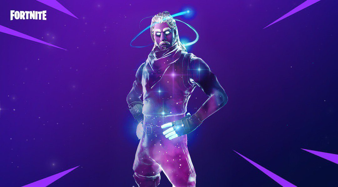 Galaxy Skin in Fortnite Chapter One