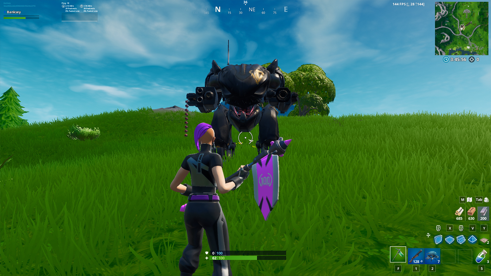 Fortnite Season 10 Mech Location How To Find And Use Brute Mech Suits In Fortnite Season X Dexerto