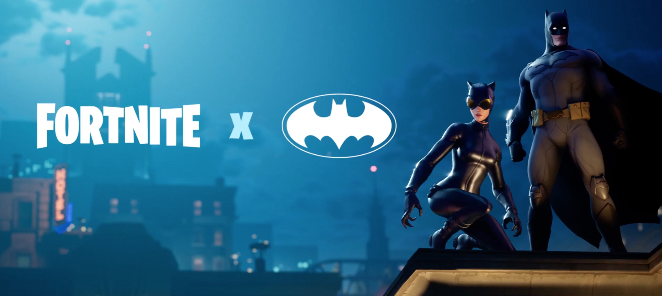 Fortnite Batman Catwoman collab