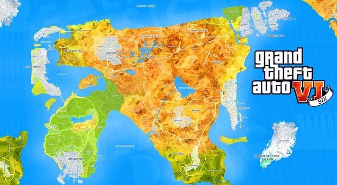 GTA 6 Map Concept