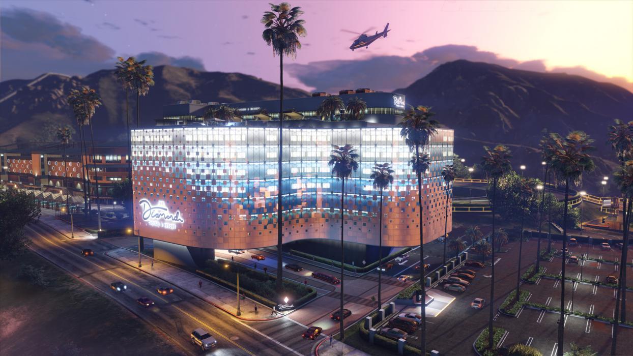 Screengrab from GTA Online