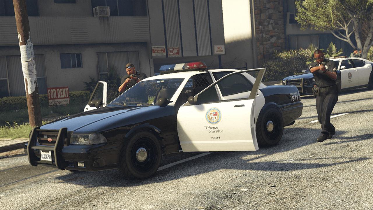 Police in GTA Online