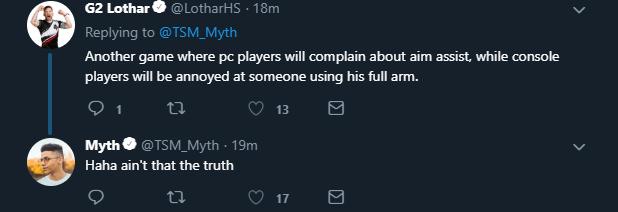 Myth Twitter