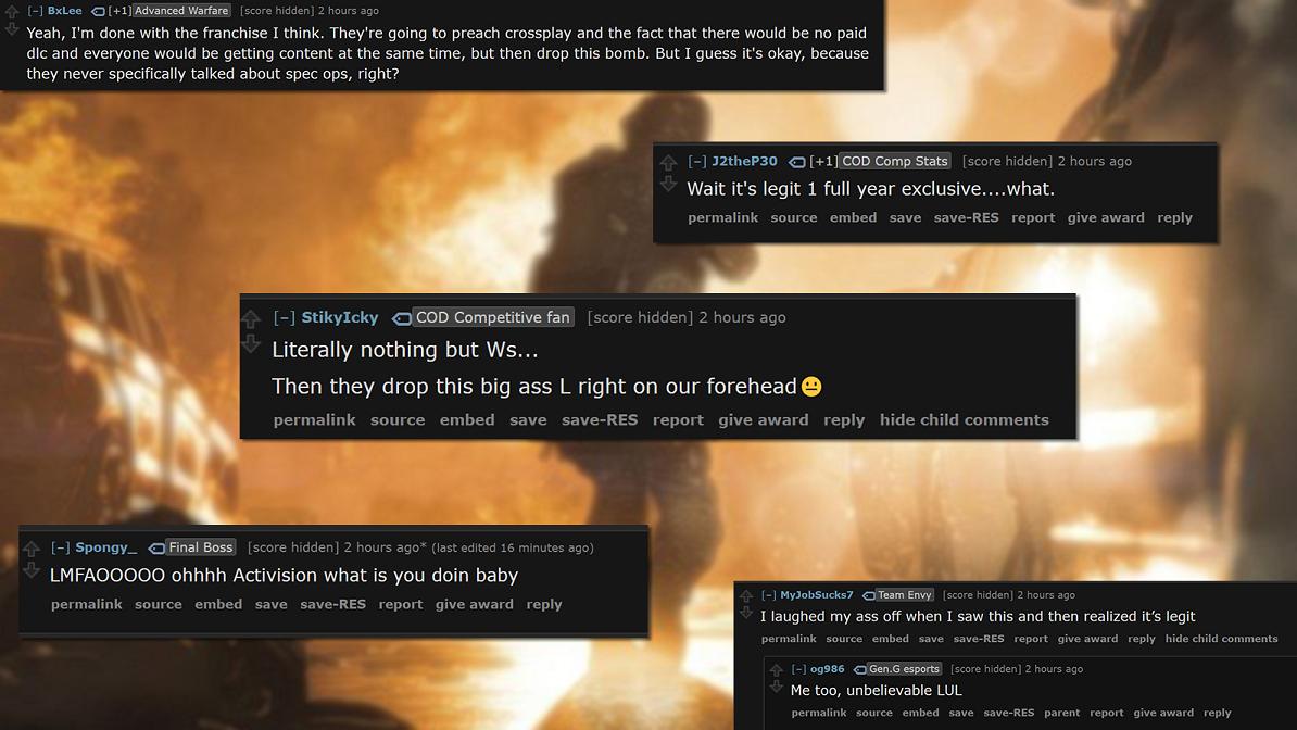 Activision - Modern Warfare / Reddit