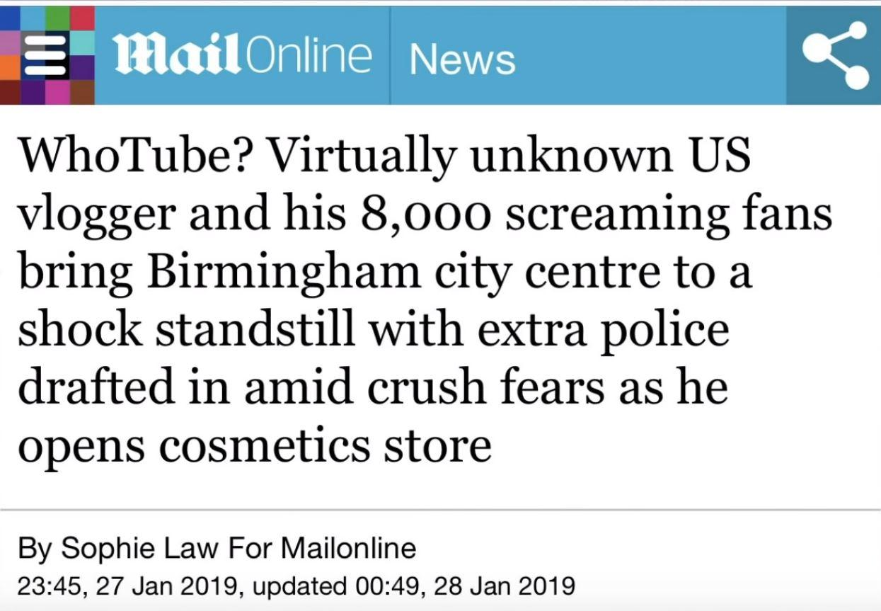 Daily Mail / Philip DeFranco, YouTube