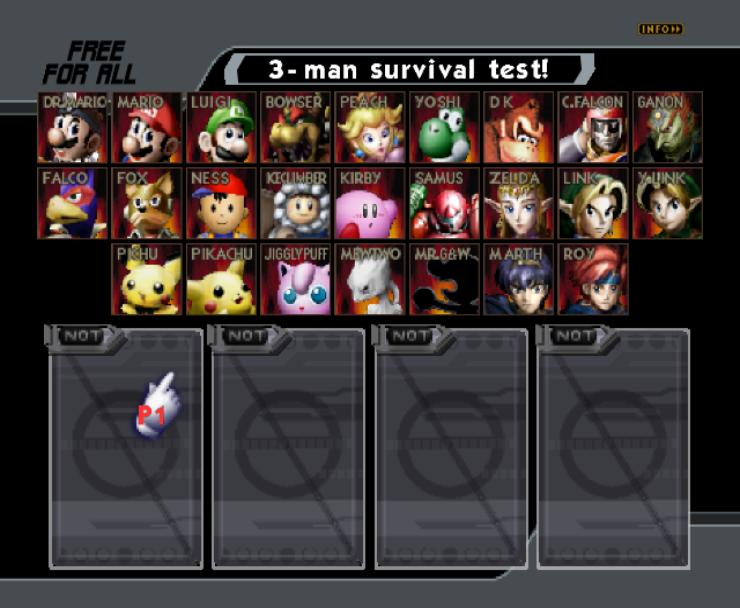 Super Smash Bros Melee 64