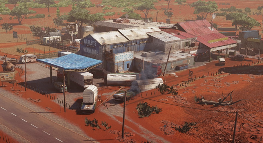 Outback in Rainbow Six Siege
