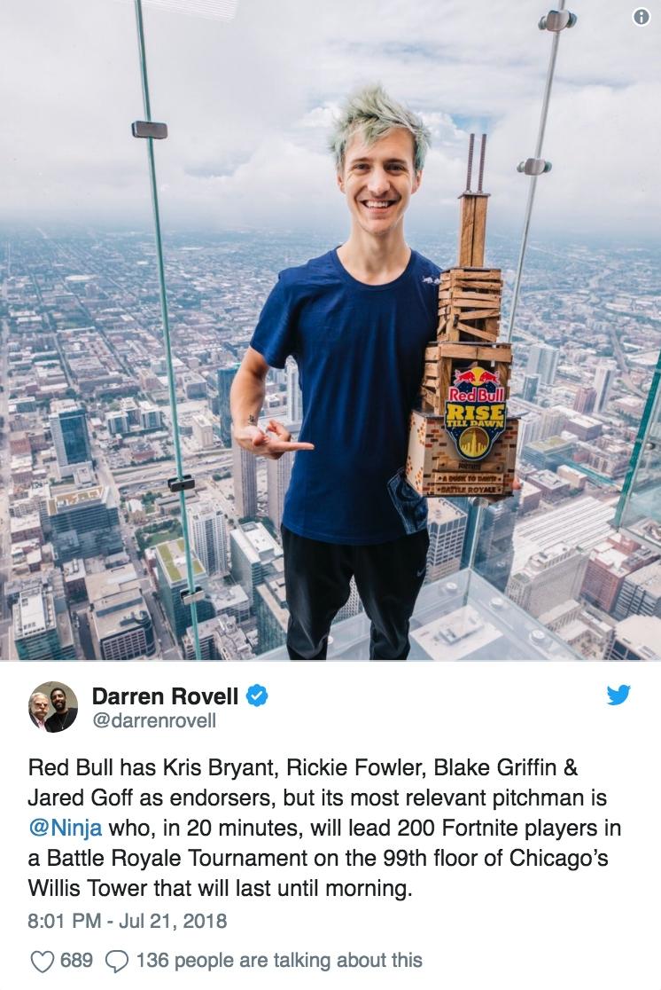 Darren Rovell/Twitter