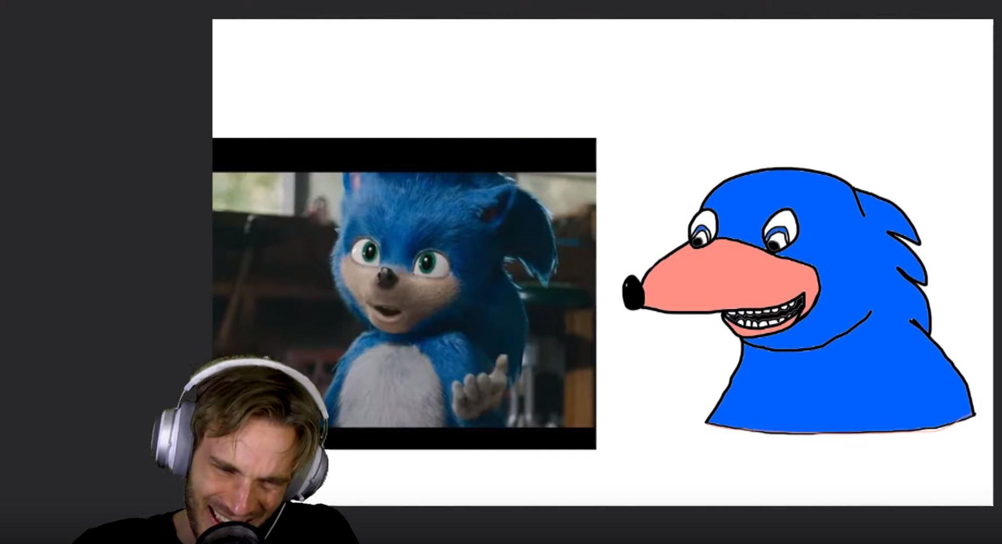 PewDiePie, YouTube / Paramount, SEGA