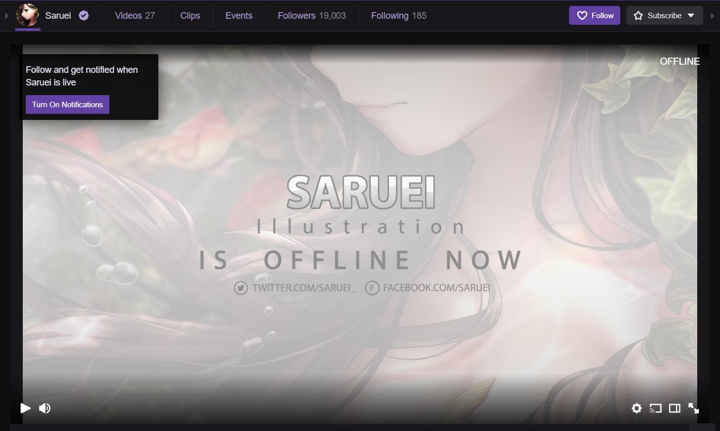 Twitch: Saruei